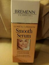 Bremenn Clinical Strength Smooth Serum Reduces Lines Anti Aging 1.7 fl oz NEW!!!