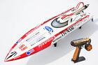 DT125 Tunami Fiber Glass RC ARTR Racing Gas 30CC Engine W/ Motor ESC Radio Boat