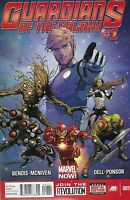 Guardians Of The Galaxy Comic 1 Cover A Steve McNiven First Print 2013 Marvel