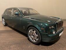 KYOSHO 1:18 Rolls Royce Phantom EWB Brooklands Green KS08841BG