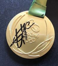 Usain Bolt Signed Replica 2016 Olympic Gold Medal Beckett Certified