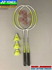 2 PLAYER YONEX BADMINTON SET - 2 X RACKETS AND 3 X SHUTTLES