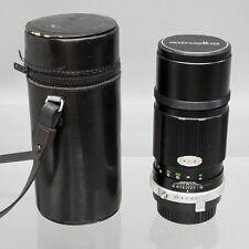 Minolta MC Tele Rokkor-PE 200mm f/4.5 Telephoto Lens