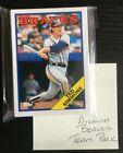 Atlanta Braves 25 Card MLB Team Lot! RANDOM ASSORTED PACK OF BASEBALL CARDS!