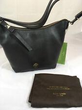 NWT Kate Spade Vivienne Leroy Street Crossbody Purse in Black Pebble Leather