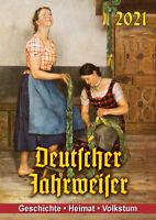 Deutscher Wegweiser Kalender in Farbe 2021 - 14 Farbige Kalenderblätter
