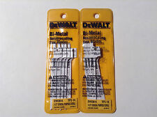 "Dewalt Dw3814 3-1/2"" 14Tpi Bi-Metal Reciprocating Blades (10 Blades)"