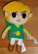 """Legend of ZELDA Phantom Hourglass 7.5"""" beanbag plush toy 2011 Nintendo"""