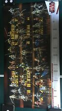 Star Wars SDCC HASBRO STAR WARS FIGURE PROMO POSTER 2009 LEGACY COLLECTION