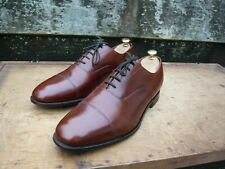 CHURCH VINTAGE OXFORD – BROWN / TAN - UK 10.5 – CONSUL - EXCELLENT CONDITION