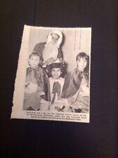 73-1 Ephemera 1969 Picture 1st Birchington Brownies Yasmine Currin Xmas