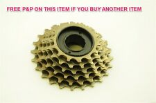 SPORTS RACING ROAD BIKE ATB INDEXED 6 SPEED 14/24 FREEWHEEL (SPROCKET CASSETTE)