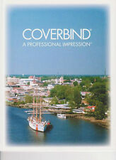 """90 COVERBIND White Print On Demand Thermal Binding Covers (1/8"""" 16-30 pgs)"""