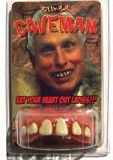 CAVEMAN TEETH  fake goofy joke bad false hill  billy bob costume NEW GAG funny