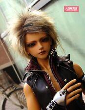 BJD doll wig 7-8 inch 18-20cm 1/4 BJD DOLL MSD Fur Wig Dollfie Brown M10