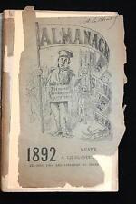 ALMANACH HISTORIQUE SEINE ET MARNE-1892,LE BLONDEL