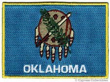 Oklahoma State Flag embroidered iron-on Patch Emblem Ok applique