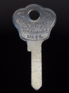 1125CNR FORD Tool Box/Tire Lock KEY BLANK 1939-48, WWII  WILLYS JEEP Ign. 1943-6