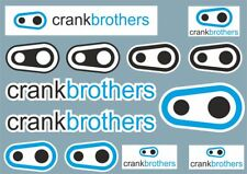 Crank Brothers Decals Vinyl Stickers Frame Crank Replacement Adhesive Set 13 Pcs