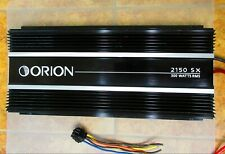 Orion 2150 Sx Amplifier Amp Stereo Mono Eq 2 Channel Car Bass