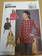 Butterick Easy SEWING PATTERN B6592 E5 Misses Top 14-22