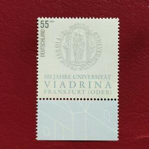 Alemania Federal año 2006 500  aniversario de la Universidad Nº 2356 MNH