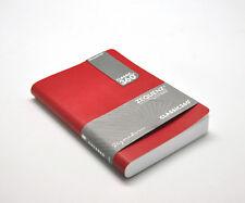 """Zequenz 360 Soft Bound Journal Notebook Medium 5"""" x 7"""", Red, Grid 400 pages"""