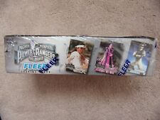 Mighty Morphin Power Rangers MMPR The Movie Trading Cards 100 Packs in box Fleer