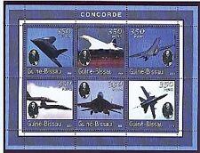 guinée bissau-De Gaulle-concorde-2001-1 bloc neuf NON dentelé