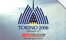 *G 959 C&C 3075 SCHEDA TELEFONICA USATA TORINO 2006