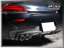 3D Style Carbon Fiber Rear Diffuser M-Tech Sports for 2009-2014 BMW E89 Z4