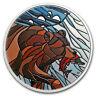 2018 Canada 1 oz Proof Silver $20 Canadian Mosaics: Grizzly Bear - SKU#172265
