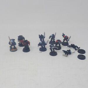 Lot of Metal/Plastic Warhammer 40,000 Space Marine Scouts, Marines + Land Raider