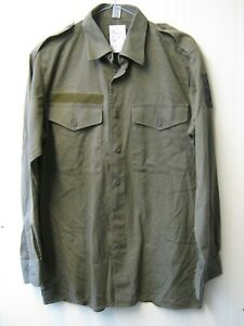 Austrian Army Lightweight Shirt Small Buttons Eagle Detail Military Surplus