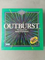 Outburst The Game of Verbal Explosions NEW Sealed Vintage 1994