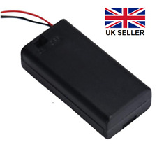 2AA Battery Holder, 2 x 1.5V (3 volts) with on/off switch