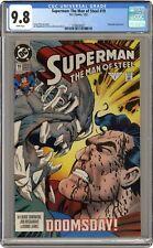 Superman The Man of Steel #19 CGC 9.8 1993 3798039021