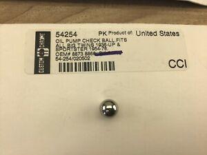 Harley Davidson Oil Pump Check Ball OEM 8873 8866 Sold Individually HF630SmL19