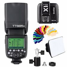 Godox TT685N TTL HSS Speedlite Flash For Nikon +X1T-N Transmitter + Softbox Kit