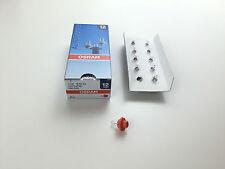 10x OSRAM 12v 1,1w bx8, 4d Lampada 2473mfx6 Lampada capo calcestruzzo dell'abitacolo lampada