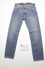 Levi's 504 straight boyfriend jeans usato (Cod.D1027) Tg.44 W30 L32