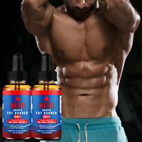 Keto Ultra Fast Weight Loss Fat Burner Drops Metabolism Booster Pack of 2