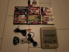Super Nintendo Entertainment System Snes mit Controller und 7 Spielen in Ovp