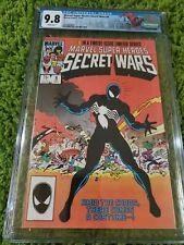 MARVEL SUPER HEROES SECRET WARS #8 CGC 9.8 New York Spidey label White!