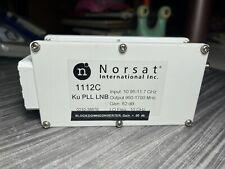 Norsat 1112c Ku Band 1095 1170 Ghz Pll Lnb