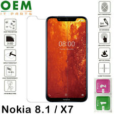 Premium Screen Protector For Nokia 8.1 / X7 Tempered Glass Guard Film New