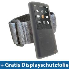 Clear Silicone Sleeve Bag Case Skin Armband for Sony Walkman Nwz e463 e464