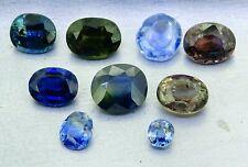 fine untreated sapphires 7.58ct natural loose gemstones