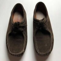 0767f375 Clarks Originals Wallabee Womens Shoes 7.5 M Brown Lace Retail $135 ...