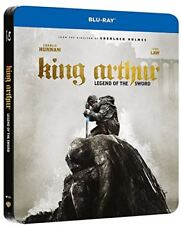 King Arthur: Legend of the Sword Limited Edition STEELBOOK NEW